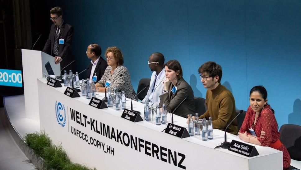 Welt-Kimakonferenz © Melina Wagner
