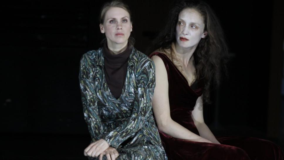 Tanja Schleiff, Lena Schwarz in »Der Idiot« © Klaus Lefebvre