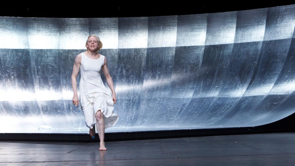Anne Müller in »Die Jungfrau von Orleans« © Matthias Horn