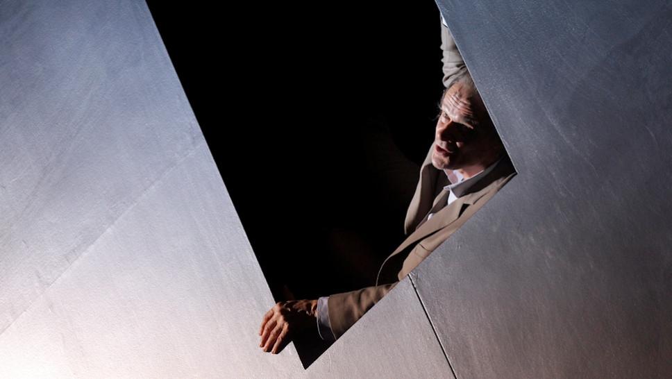Edgar Selge in »Unterwerfung« © Klaus Lefebvre