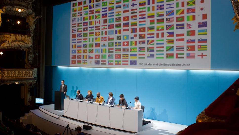 Welt-Kimakonferenz © Saskia Seifert