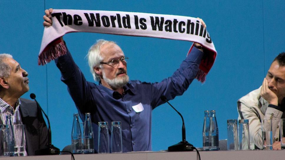 Welt-Klimakonferenz / Klaus Milke © Dennis Kossowski
