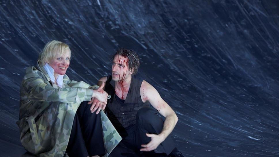 Anne Müller, Jonas Hien in »Die Jungfrau von Orleans« © Matthias Horn