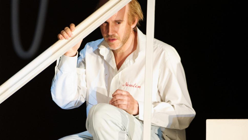 Paul Herwig in »Die Physiker« © Sandra Then