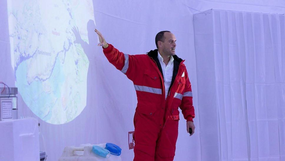 Welt-Klimakonferenz / Prof. Dr. Boris Peter Koch © Melina Wagner
