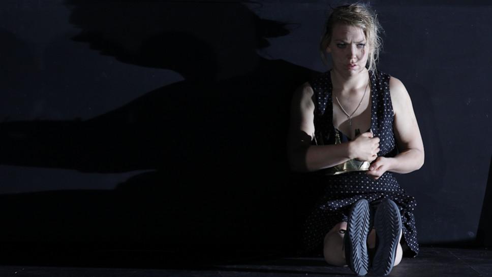 Lina Beckmann in »Die Ratten« © Klaus Lefebvre