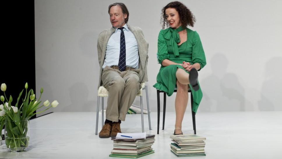 Maria Schrader, Michael Wittenborn in »Der Gott des Gemetzels« © Maurice Kohl