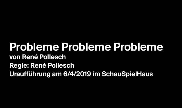 Probleme Probleme Probleme