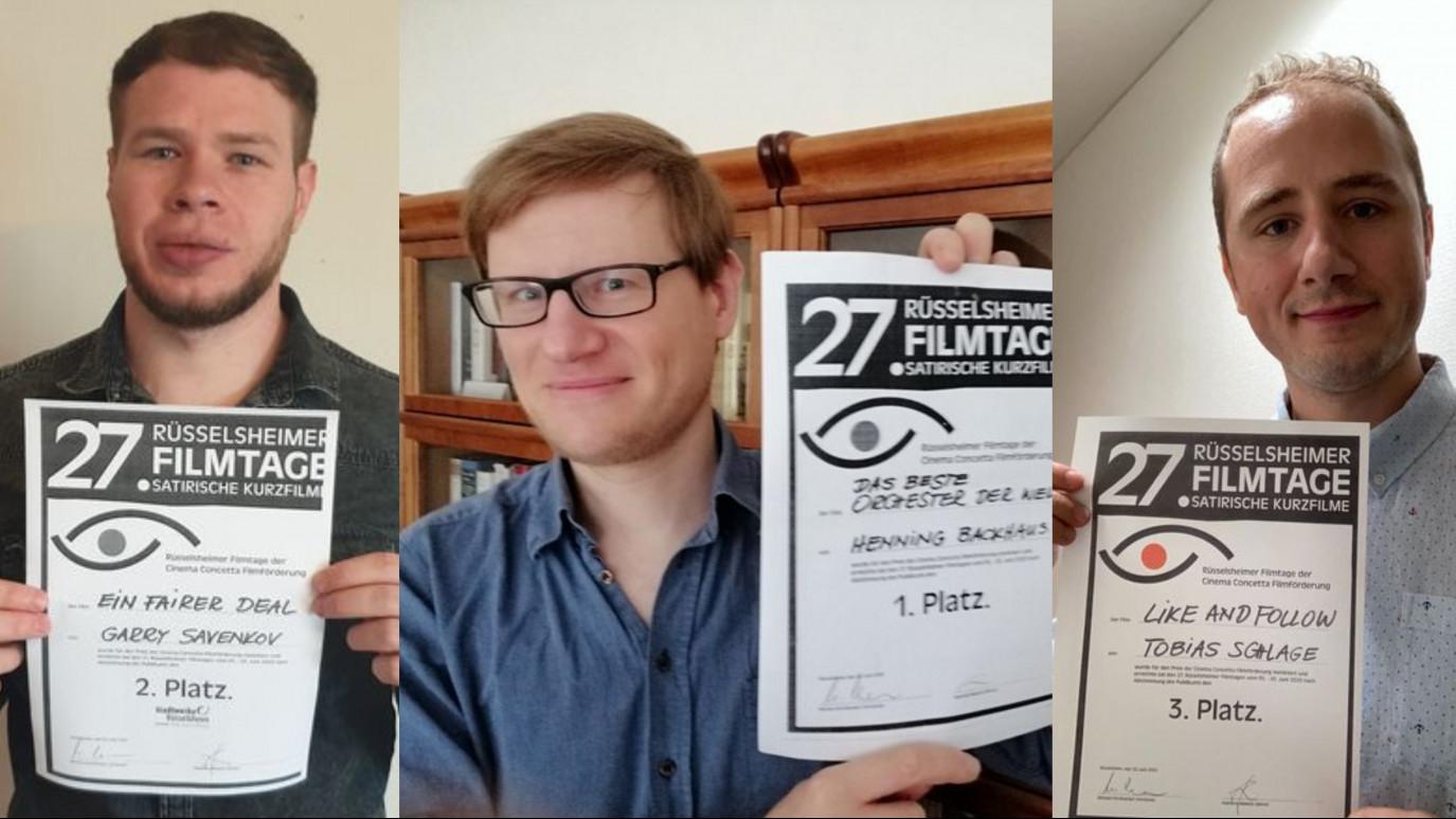 Preisverleihung 27. Rüsselsheimer Filmtage