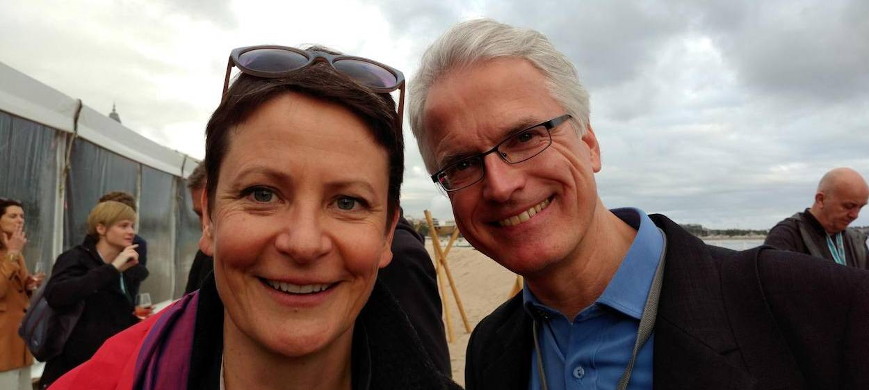 Anja Unger & Björn Jensen, german documentaries representatives in Cannes 2018