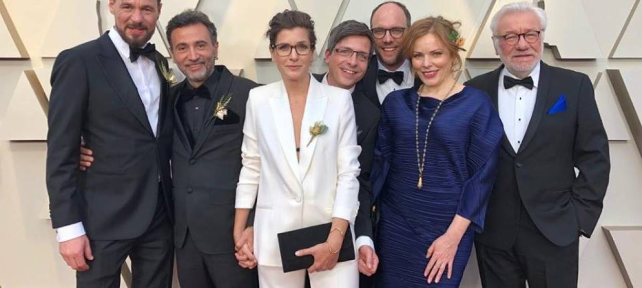 The team OF FATHERS AND SONS at the 91st OSCARS