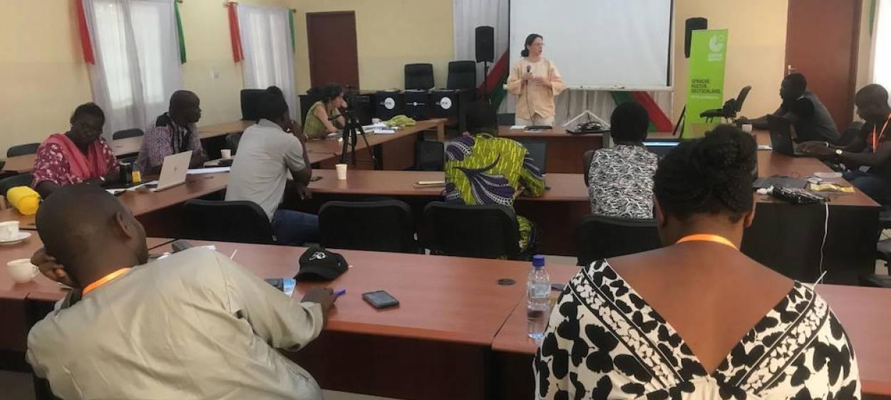 workshop with Caroline Reucker