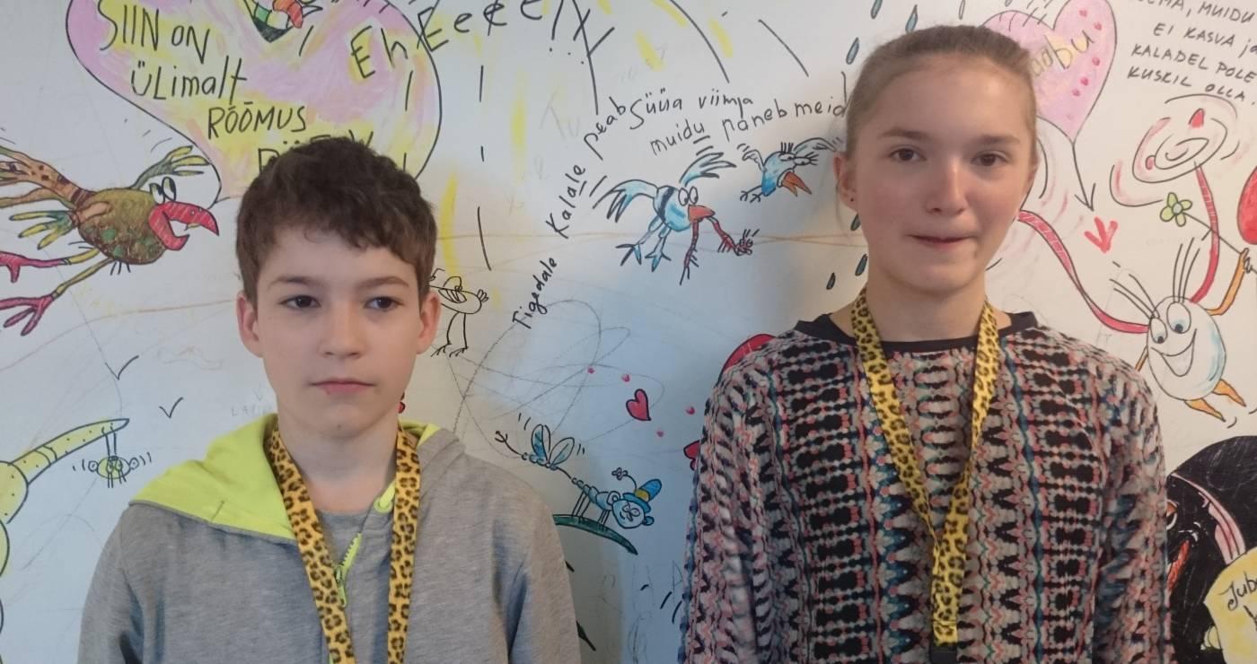 Greg (12) & Lucia (13)