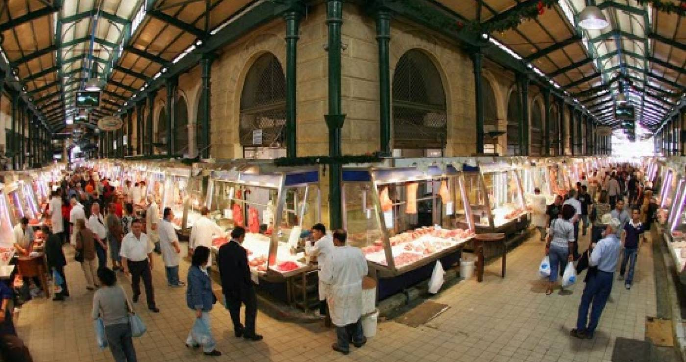 Athens: the central market