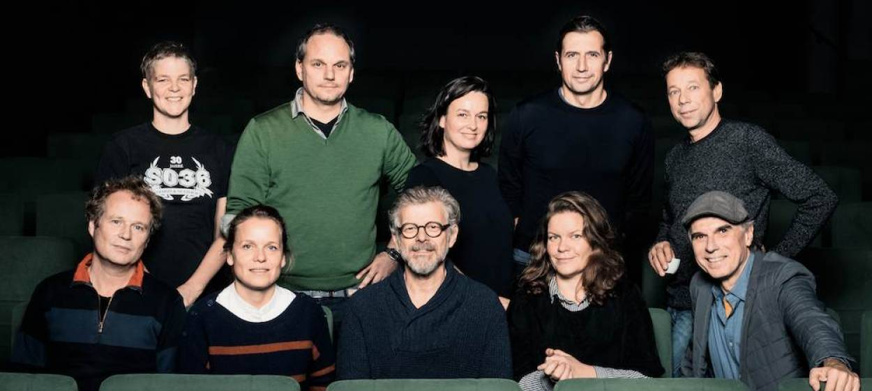 From left to right the members of the documentary 2019 selection panel LOLA@Berlinale: Jan Tilman Schade, Catrin Vogt,