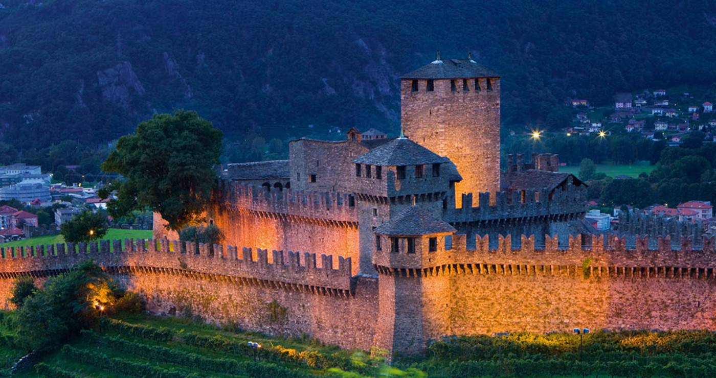Bellinzona: Castello Montebello