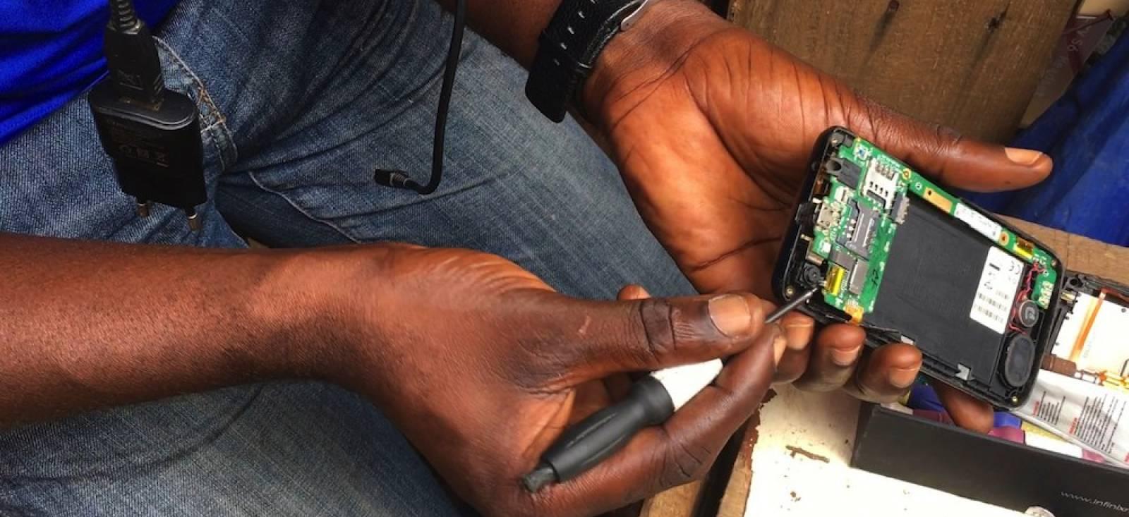Chinafrika. mobil