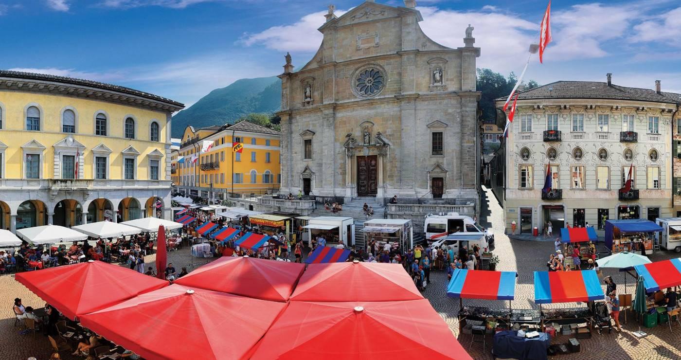 Bellinzona: Market