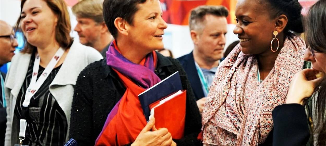 Anja Unger at MIPTV