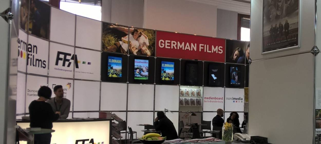 European Film Market booth 18, Martin Gropius Bau, ground floor