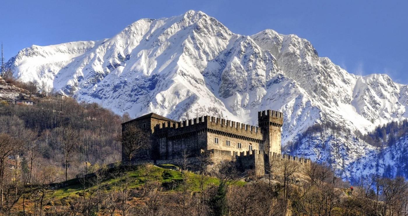 Bellinzona: Castello Sasso Corbaro