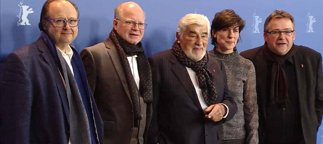 MARIO ADORF with Dominik Wessely, Herbert Schwering a.o.