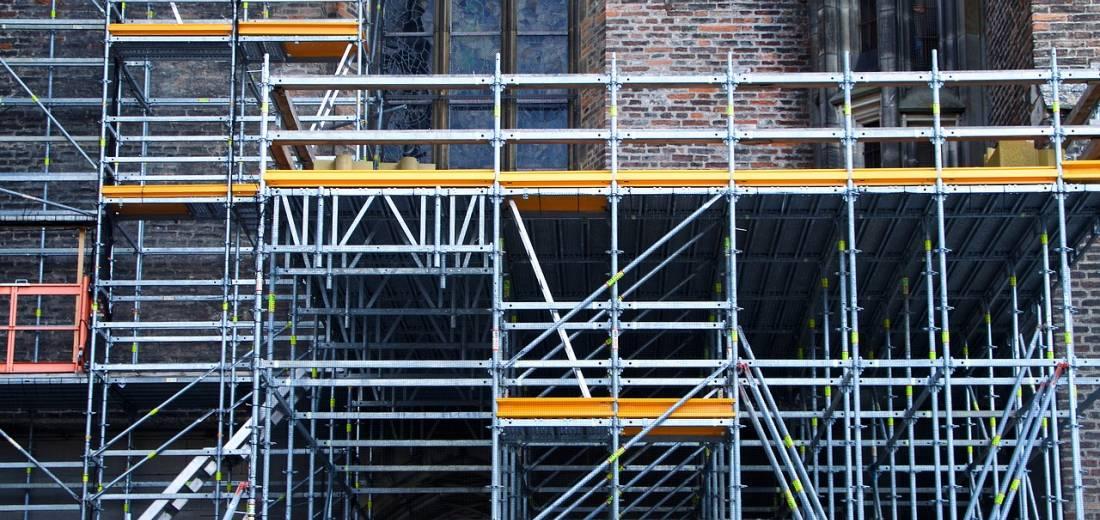 Stabile Struktur im Hintergrund