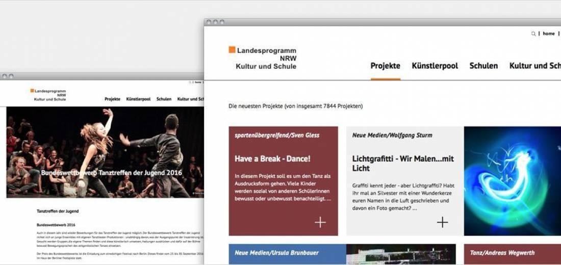 Landesprogramm NRW Kultur und Schule