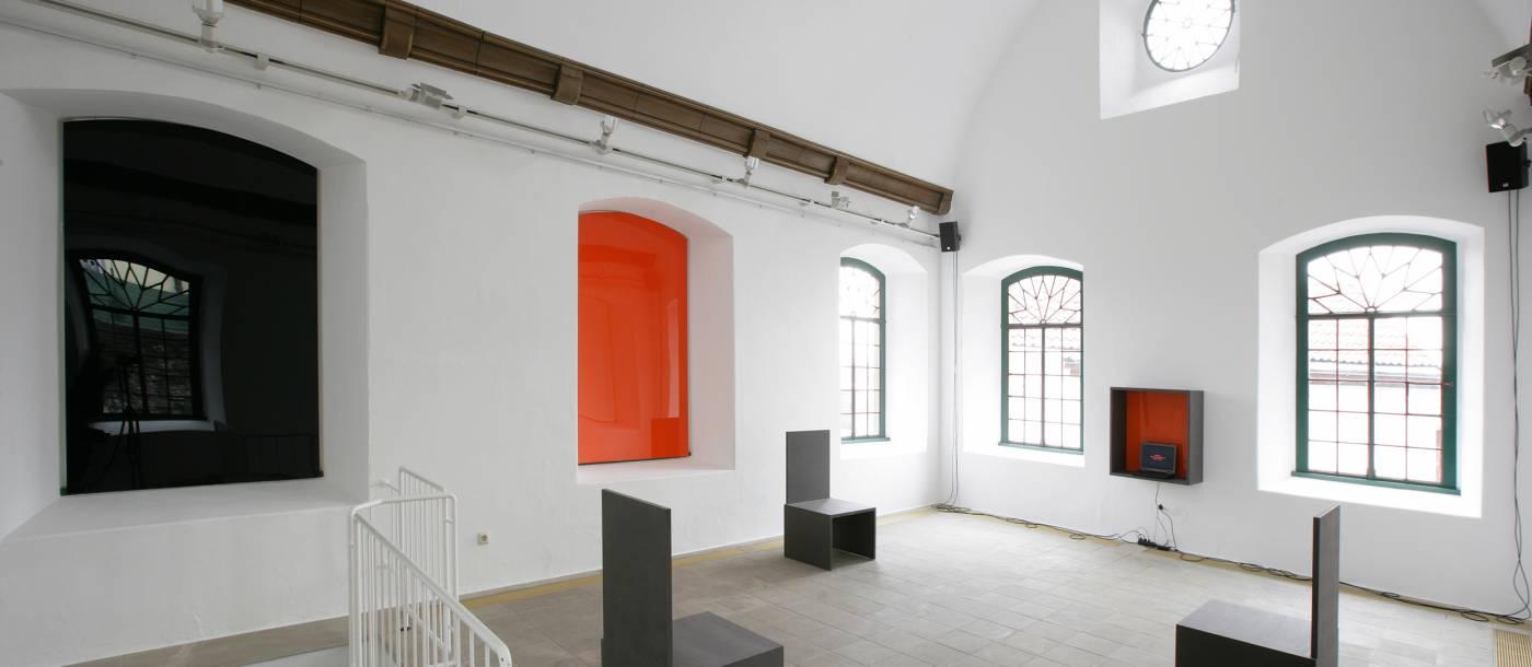 Rainer A.K. Brinkschröder: Raumbezug [2] Kunstverein Oerlinghausen