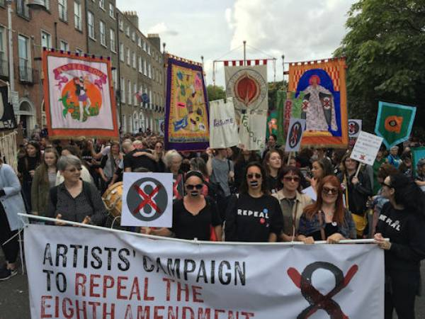 Artists' Campaign to Repeal the Eighth Amendement, Dublin