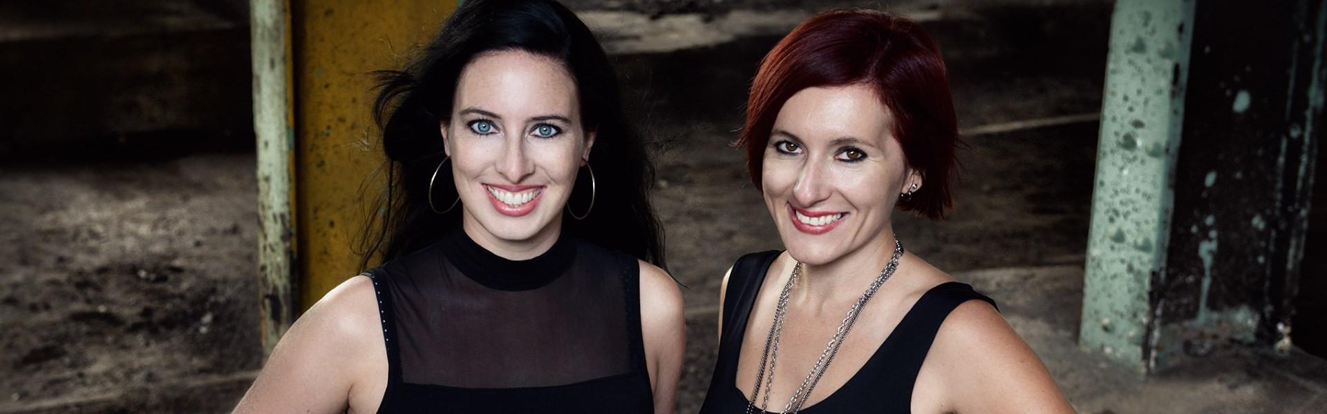 Nadine d'Arachart und Sarah Wedler