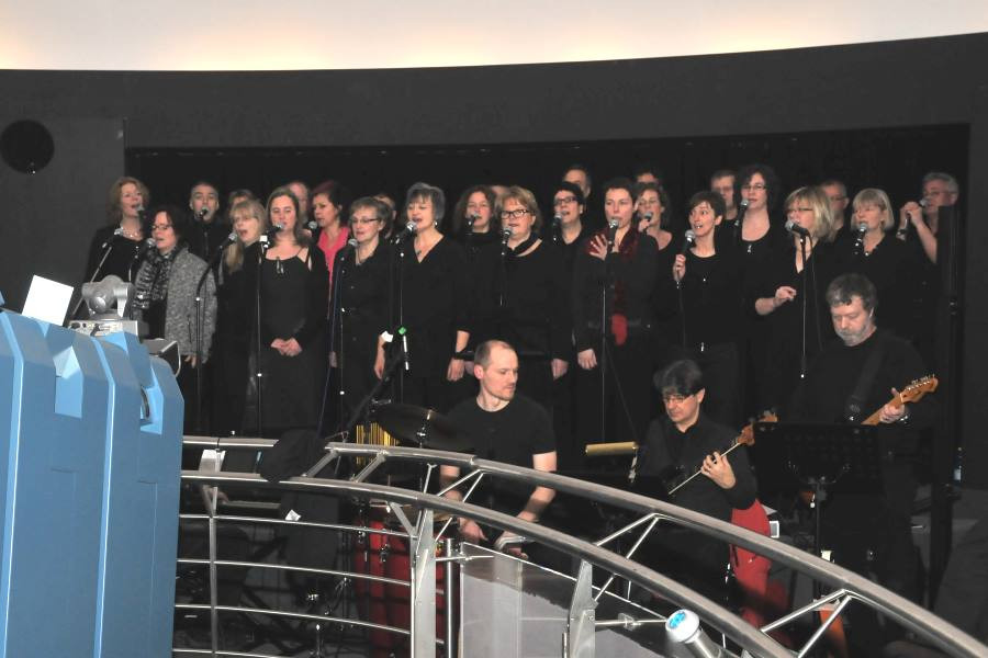 Young People Chor und Band