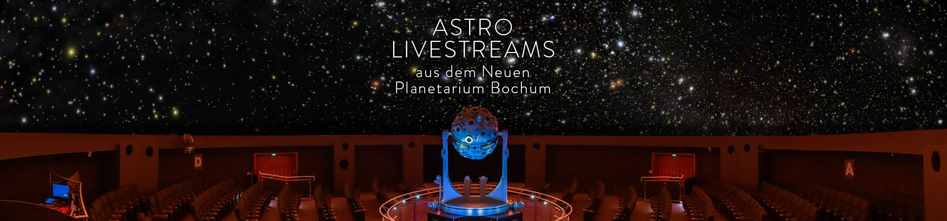 Astro Livestreams Header