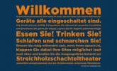 Streichholzschachteltheater (Matchbox Theatre)