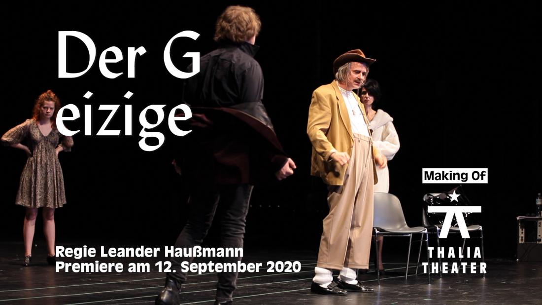 """Making Of """"Der Geizige"""""""