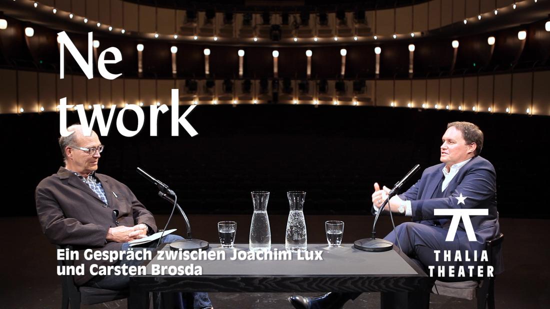 """Carsten Brosda im Gespräch mit Joachim Lux über """"Network"""""""