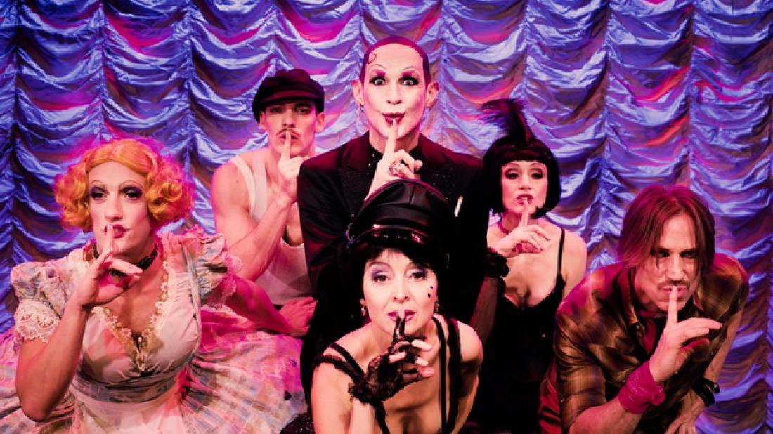 Cabaret im St. Pauli Theater – Ausschnitt