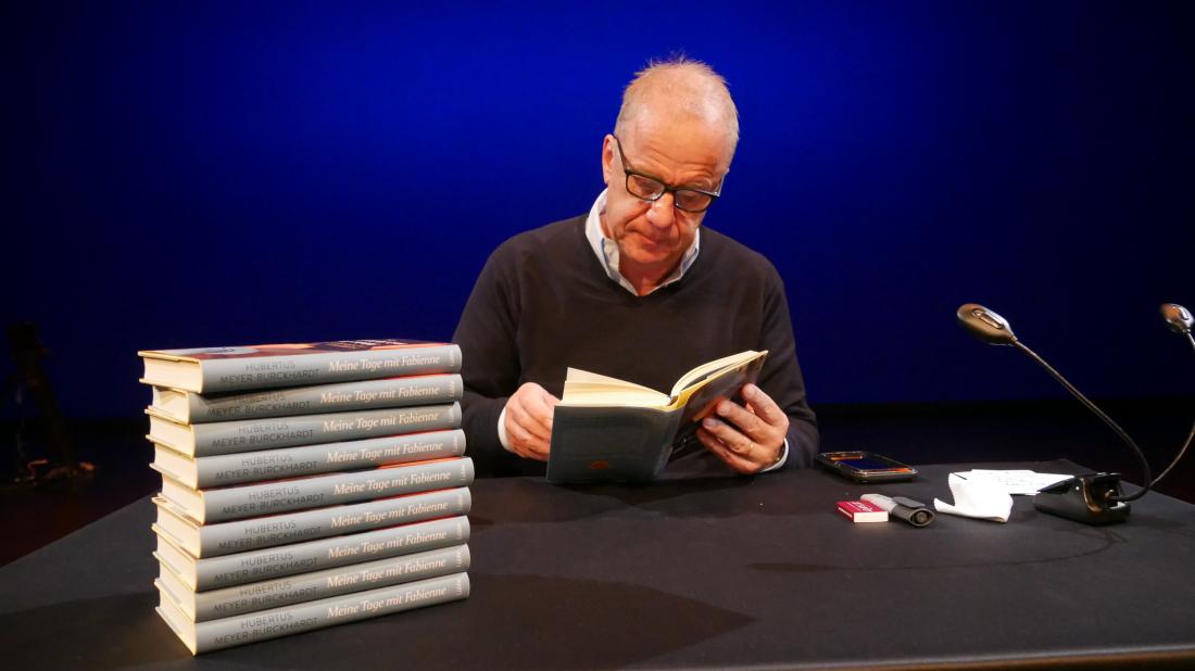 Meine Tage mit Fabienne - Lesung mit dem Autor Hubertus Meyer-Burckhardt