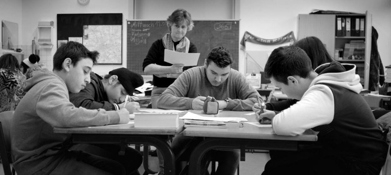 GERMAN CLASS - every begining is hard