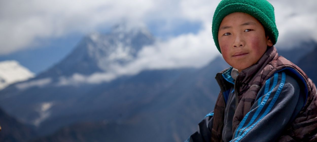 Tsering on the Top of the World