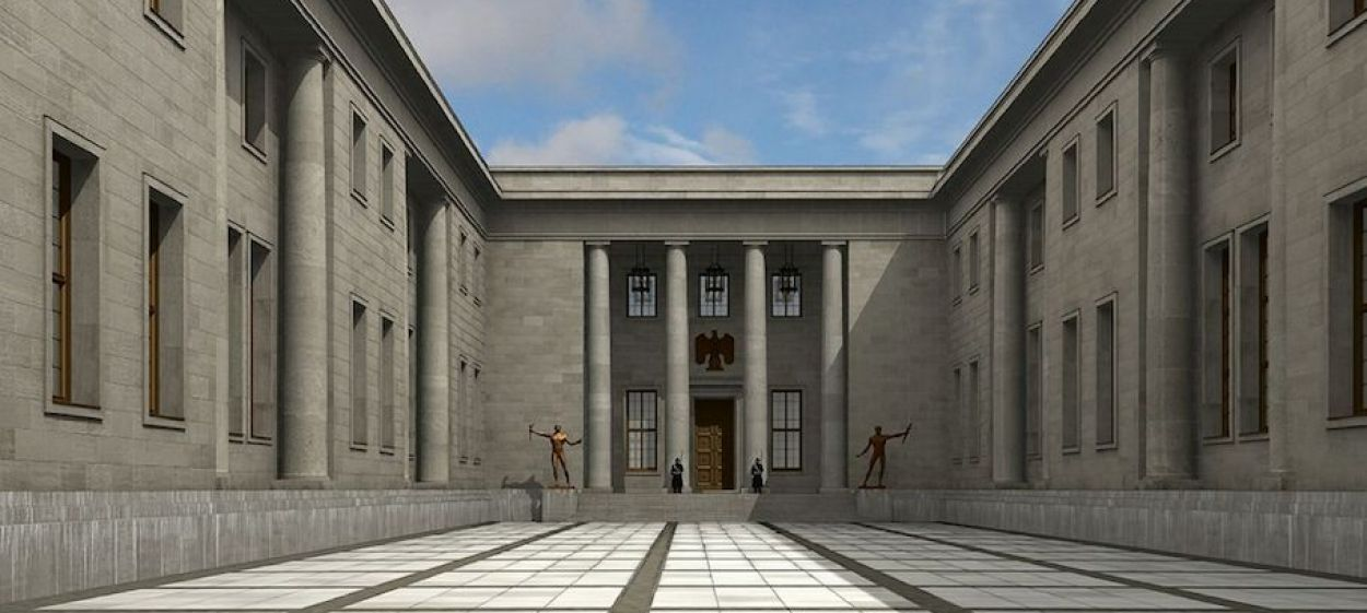 HITLER'S OFFICE - The New Reich Chancellery