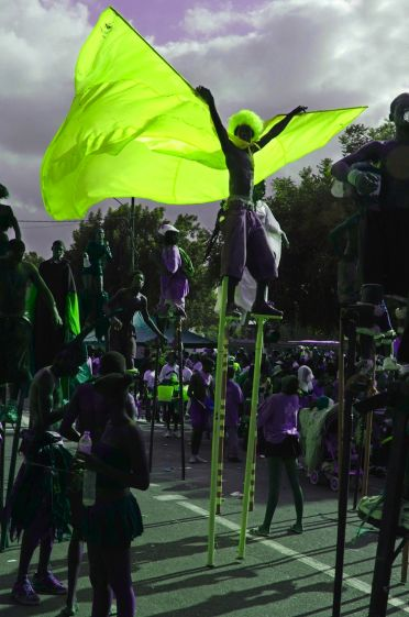 UP & DANCING - The Magic Stilts of Trinidad