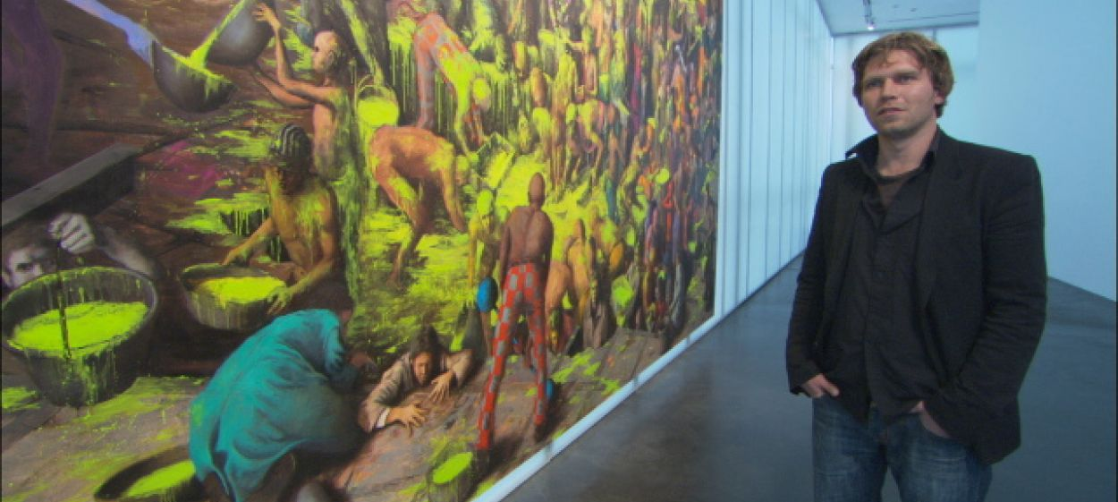 Fantastic Lies - The painting of Jonas Burgert