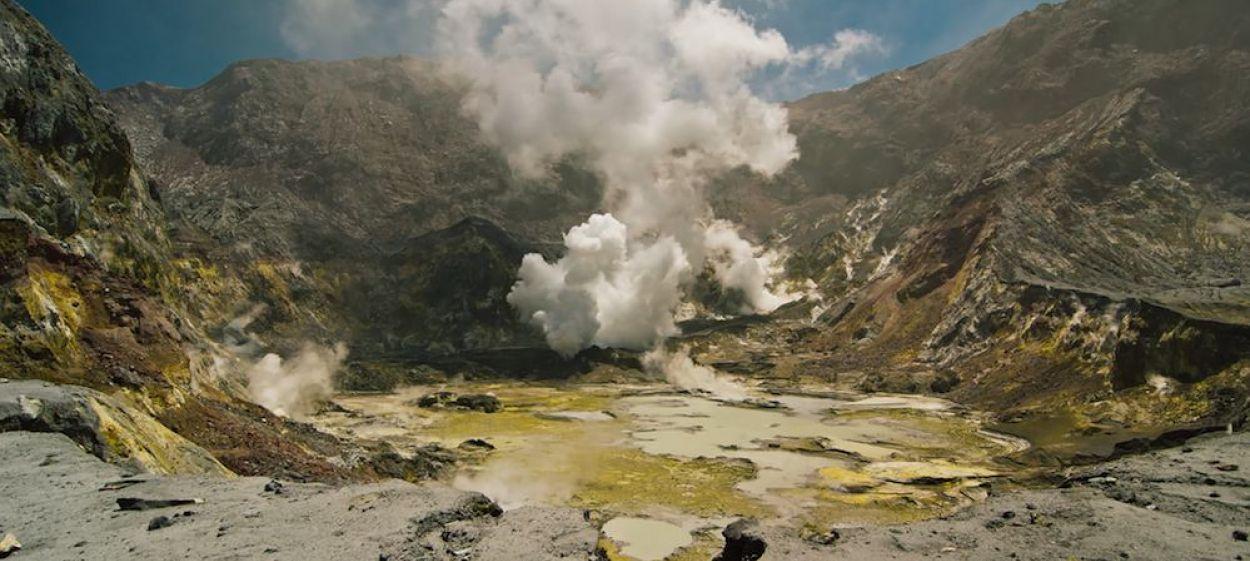 Volcanoes in New Zealand