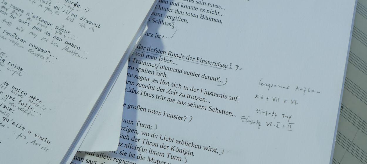 Aribert Reimann - Über das Komponieren