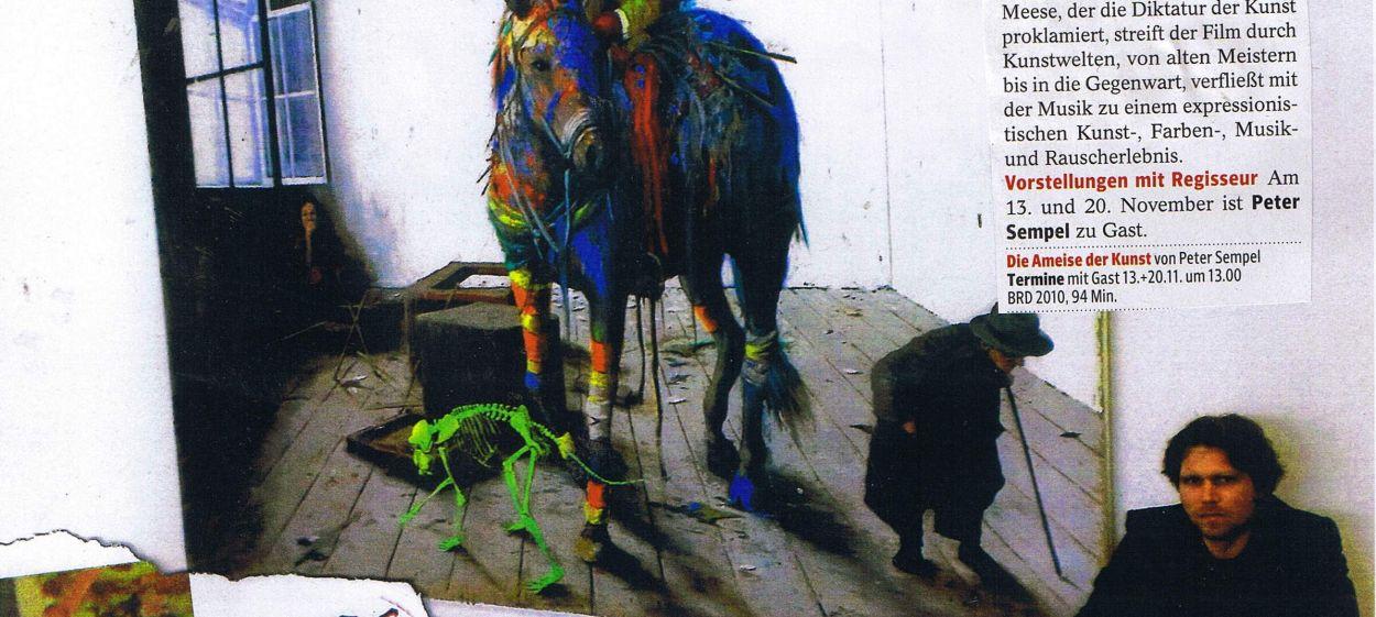 ANIMALS OF ART - Jonathan Meese