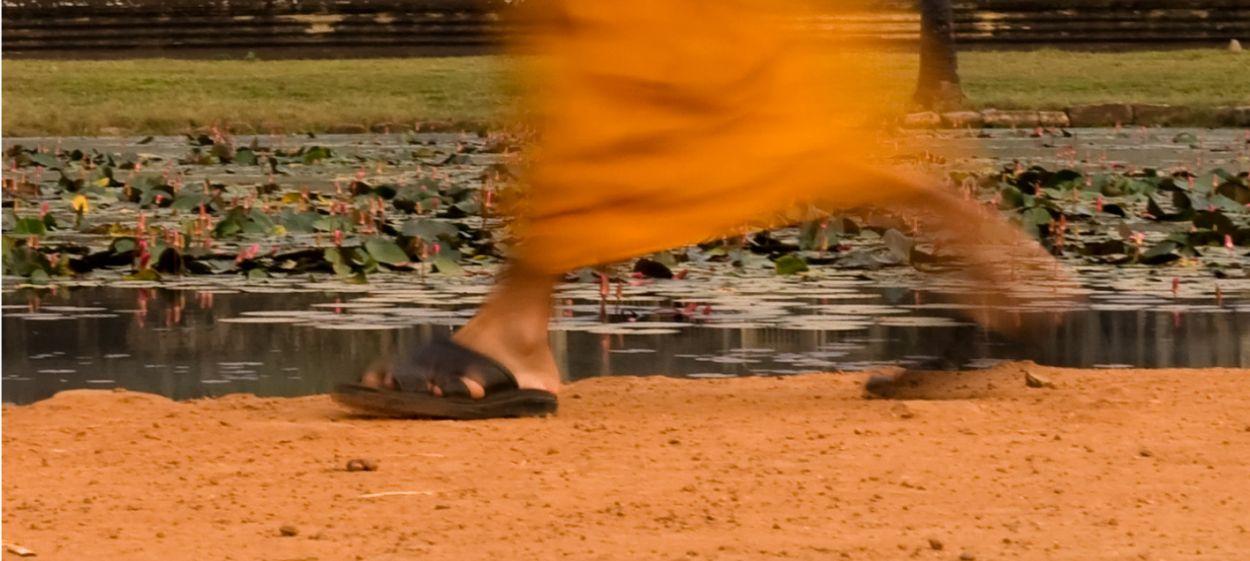 60 Mönche von Angkor