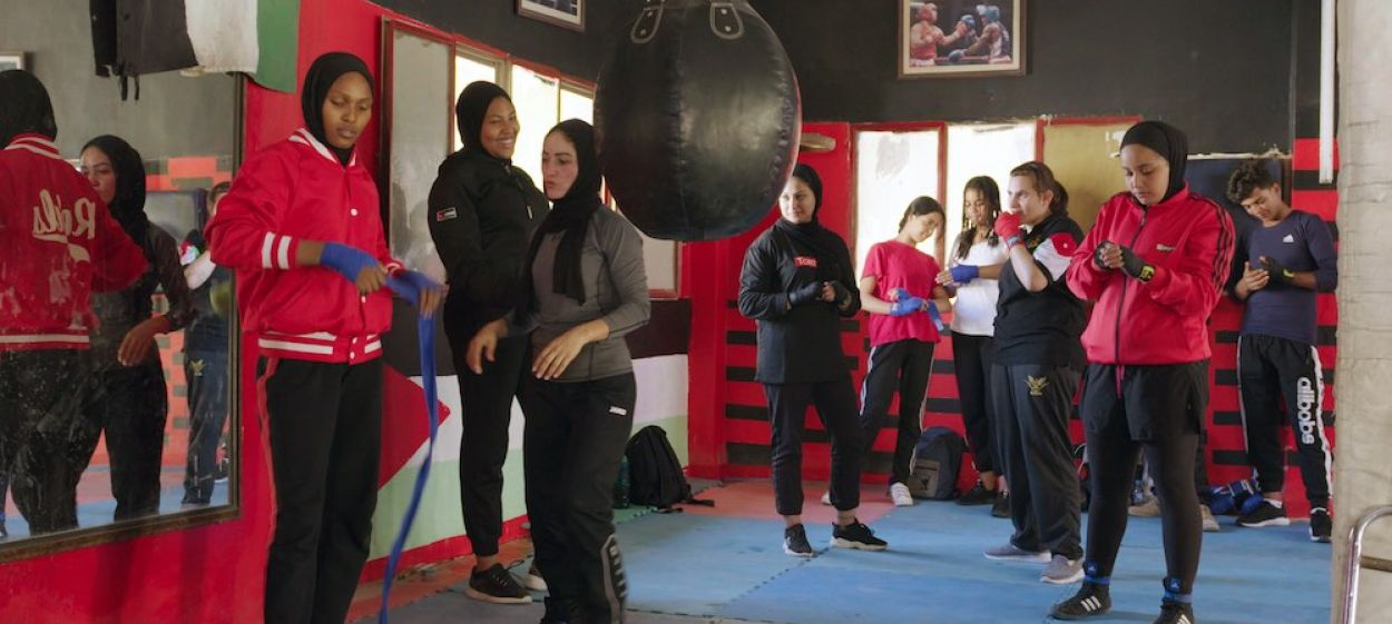 Hijab and Boxing-Gloves