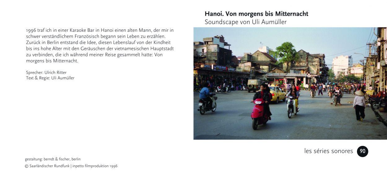 90 Hanoi. Von morgens bis Mitternacht