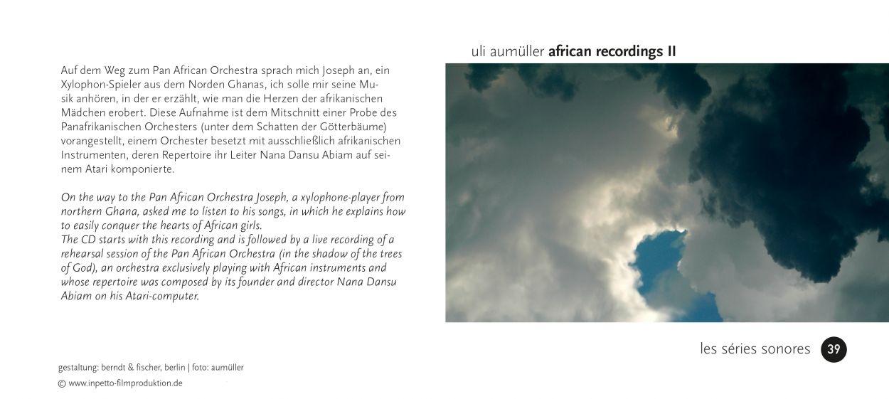 39 African Recordings II